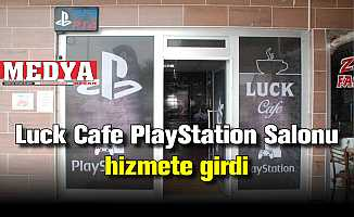 Luck Cafe PlayStation Salonu hizmete girdi