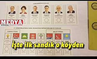 Sandıklar Keşan YSK'ya geliyor İşte ilk sandık o köyden